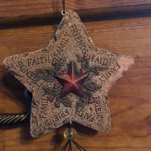 Country Friends Faith & Family Wind Chime